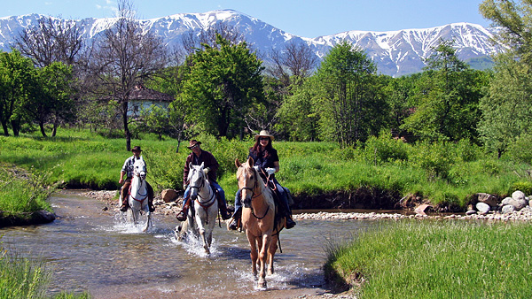 Horseback riding holidays in the Balkan Mountains